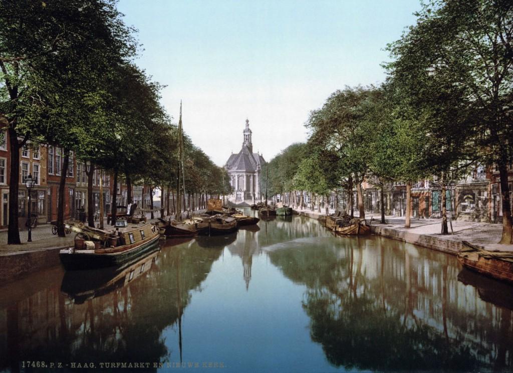 Den_Haag_-_Turfmarkt_en_Nieuwe_Kerk_1900_Mini